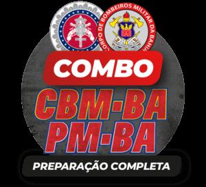COMBO: PM/BA CBM/BA | PREPARAÇÃO COMPLETA