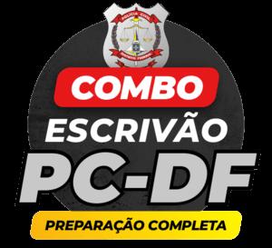 COMBO: PC/DF ESCRIVÃO | PREPARAÇÃO COMPLETA | (TEORIA/EXERCÍCIOS/RETA FINAL/SIMULADOS)